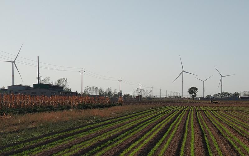 河南商丘柘城风尚50兆瓦风电场110千伏送出工程